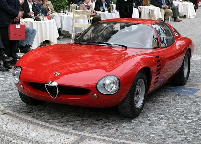 Amazing Alfa Romeo TZ1 Canguro Bertone