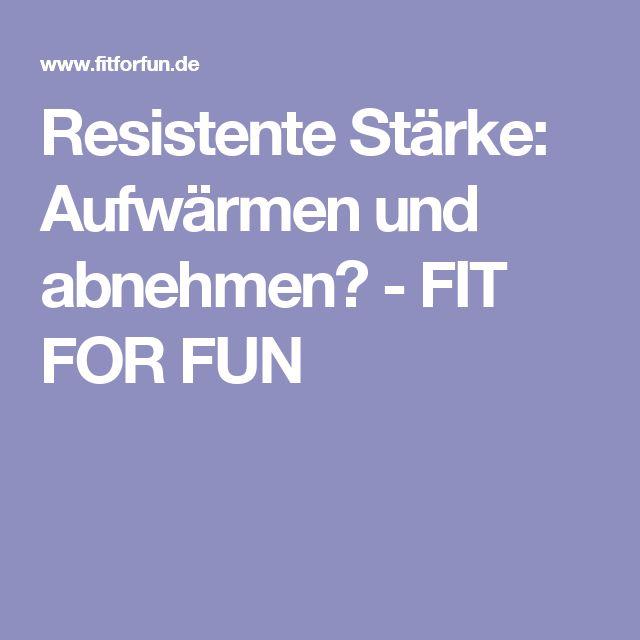 Resistente Stärke:  Aufwärmen und abnehmen? - FIT FOR FUN