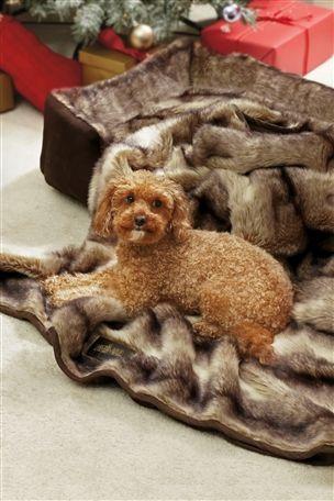 Luxury Faux Fur Dog Blanket