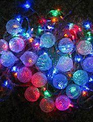 10m set van 80 kerst veranderende bal lichten, ... – EUR € 13.75