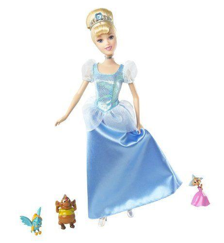 Disney Friendship Dress Cinderella: Disney Princess And Friends Cinderella Giftset By Mattel