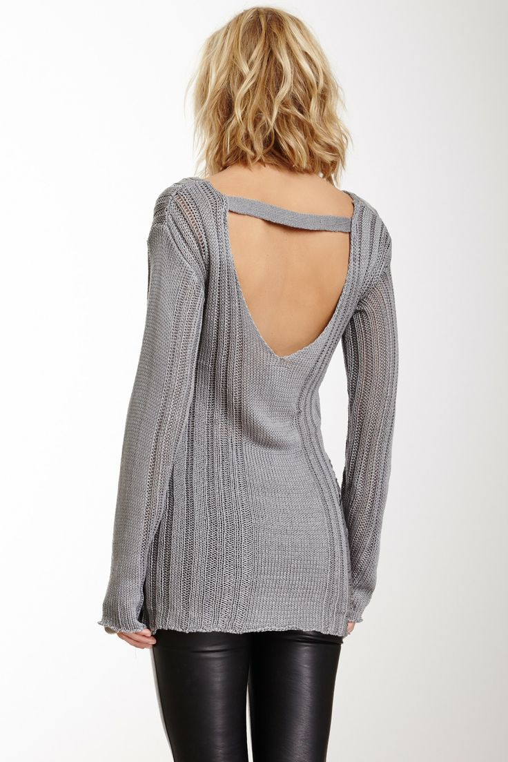 Cable & Drop Knit Top