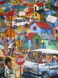 South African art by guigoune, via Flickr
