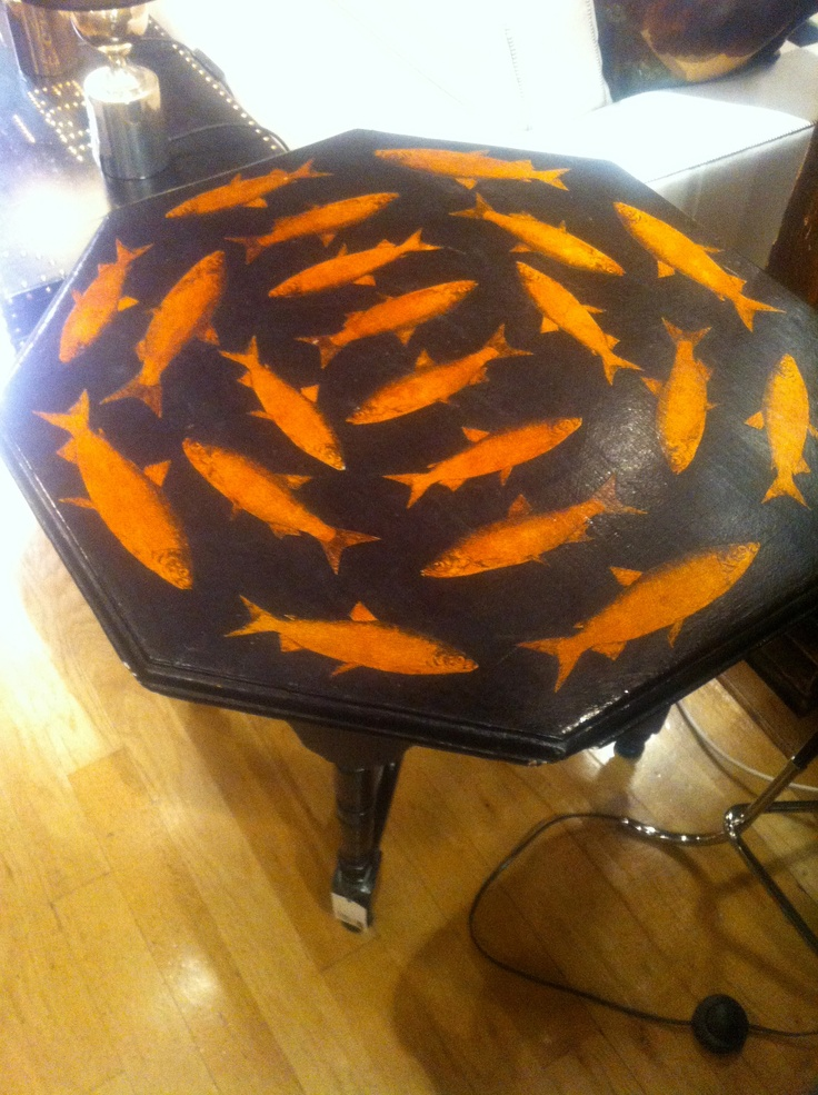 119 best images about furniture painted decoupaged for Cadlow mural world