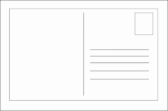 50 Fresh 5 X 7 Postcard Template In 2020 With Images Postcard