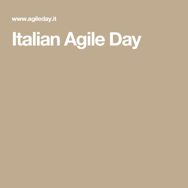 Italian Agile Day