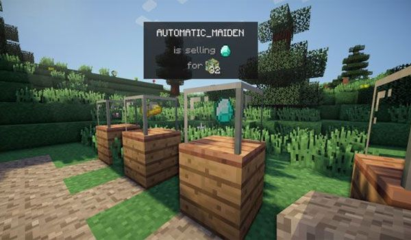 Vending Block Mod para Minecraft 1 12 y 1 12 2 | Places to