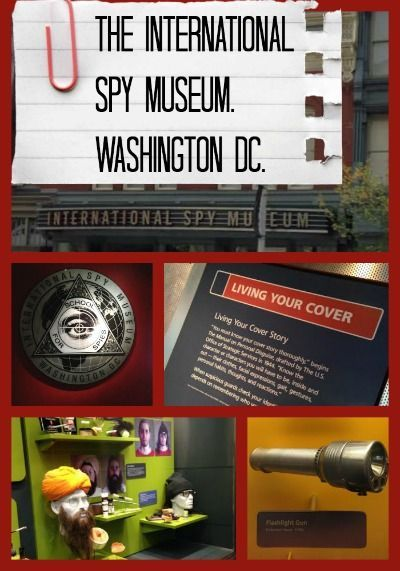 The International Spy Museum in Washington DC #Travel