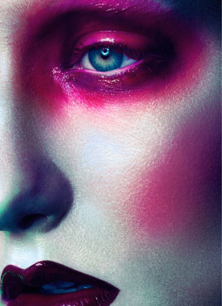 Cuckoo For Color - Photographed by Marcelo Cantu Makeup Kurtis Dam