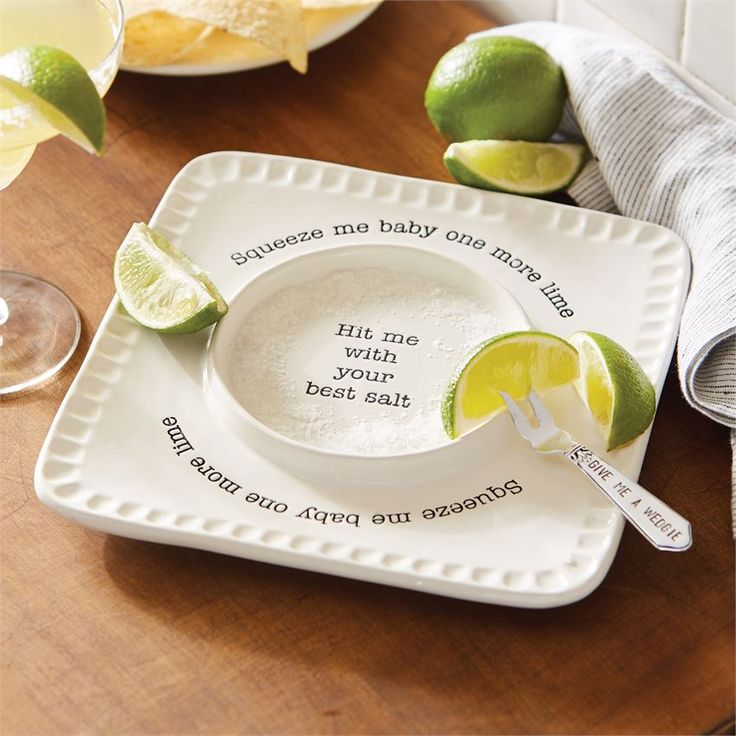 Mud Pie | Lime & Salt Rimmer Set | Great for the Summer months when friends and family are over. And perfect to use on Cinco De Mayo!