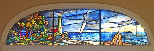 St Simons Island Lighthouse Stained Glass | Flickr : partage de photos !