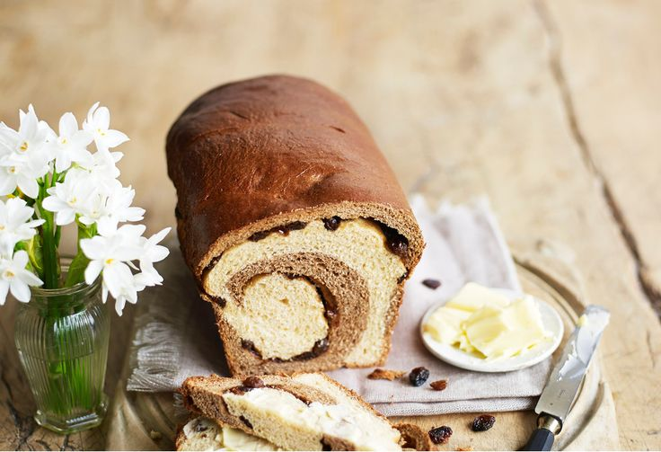 Toast a slice of this celebration bread and top with butter to give hot cross buns a serious run for their money.