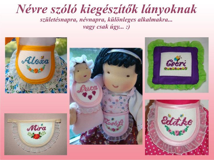 I Can make embroidered accessories for Dolls  http://edi-baba.blogspot.hu/