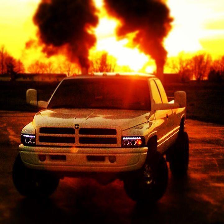 Lifted Dodge Trucks With Stacks Cummins #cummins #dodge #ram #3500