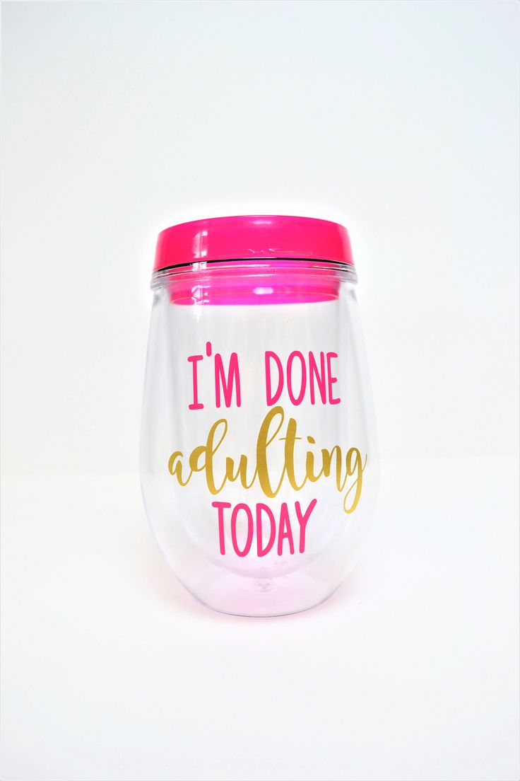 Adulting Wine Tumbler // Funny Stemless Glass // Adulting is hard // Mom Wine Glass // Funny Wine Glass // Adulting Wine Glass // Mom Cup by StellaKayeDesigns on Etsy https://www.etsy.com/listing/519043508/adulting-wine-tumbler-funny-stemless