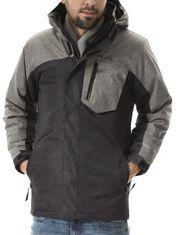 Manteau d'hiver Vamos avec poches à rabat à fermeture éclair pour homme