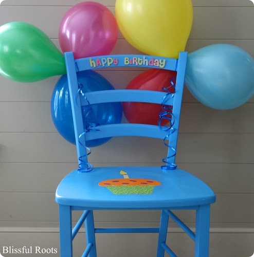 Birthday Chair & Other Fun Birthday Traditions