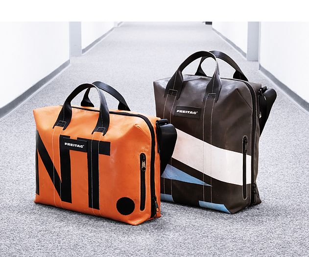 Freitag bag design from recycled materials #sustainable #recycled #material #eco #green