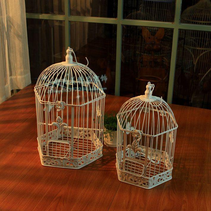 Деревенский белый tieyi птица висит птица в клетке шарма реквизит купить на AliExpress
