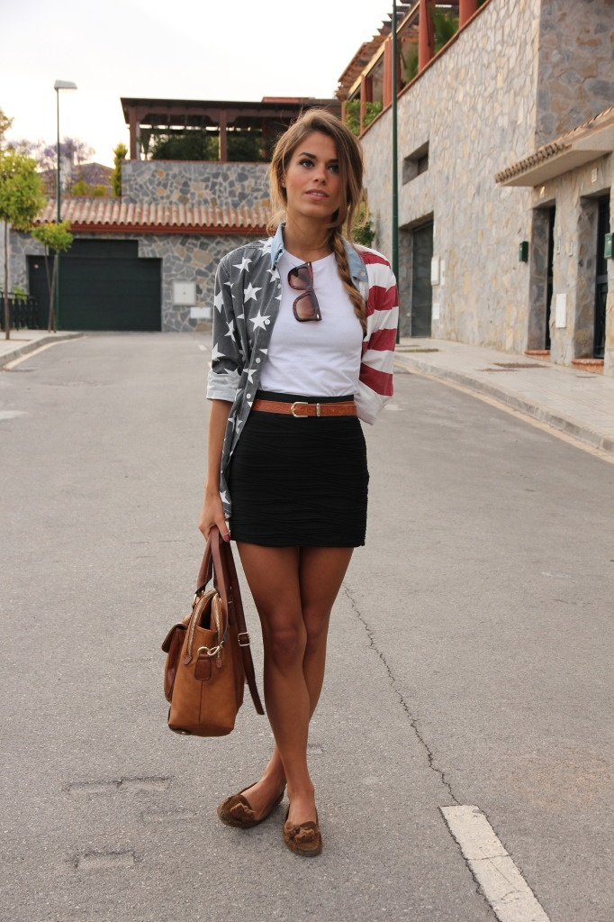 Love the style- minus the American flag design