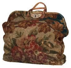 antique carpet bag