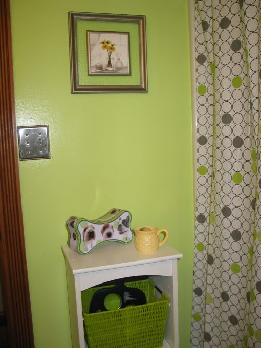 Find This Pin And More On Home Decor Lime Green Bathroom