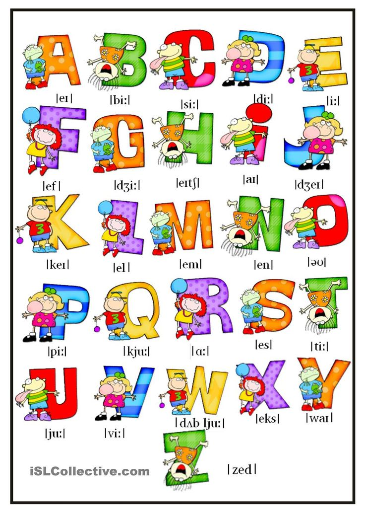 Resultado de imagen de the alphabet pronunciation worksheets