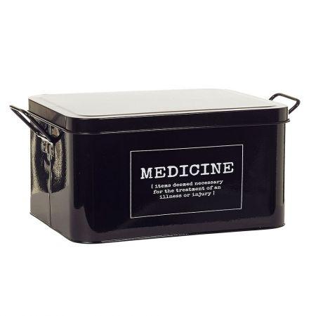Howards Storage World   Definition Medicine Tin - Black #howardsstorage #christmaswishlist