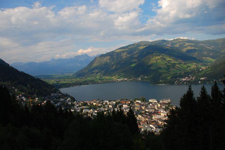 Miasteczko Zell am See nad jeziorem Zeller See. Fot. Paweł Paśnik
