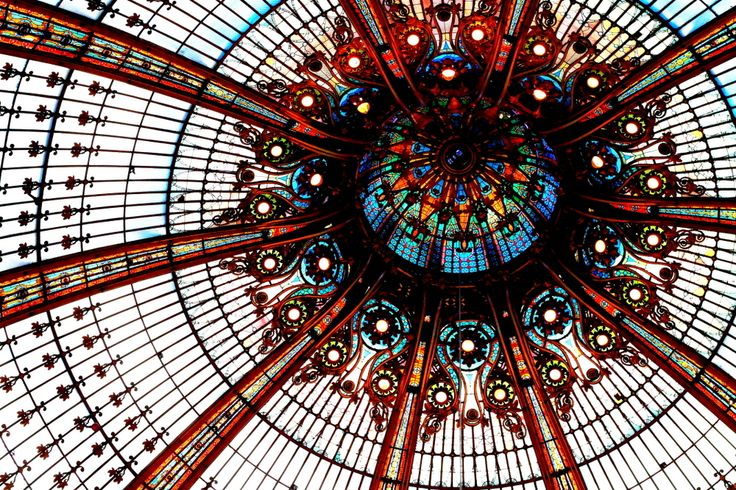 FREE: - Galeries Lafayette: department store with stained-glass dome and weekly, 30-min fashion show (must call or email) - Butte Chaumont: (steep) hike up to this park for amazing view - Institut du monde arabe: view of Notre-Dame, Montmarte, etc. and cheap tea (but might only be open in the summer) - Love locks on Pont des ARts and Pont del Archeveche: bridge with locks - National monuments: most are included with ISIC card!