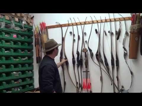 Philbows facteur d'arc traditionnel - YouTube
