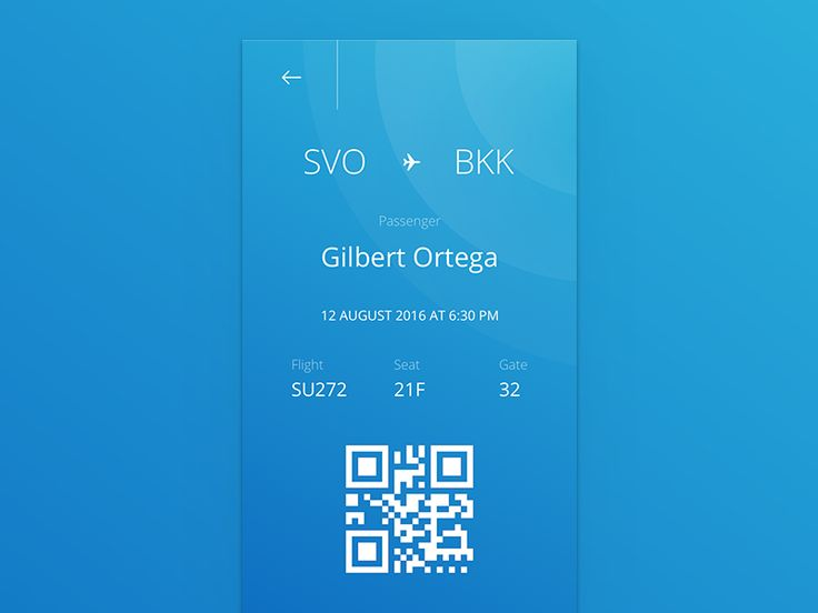 Boarding Pass - Day 024