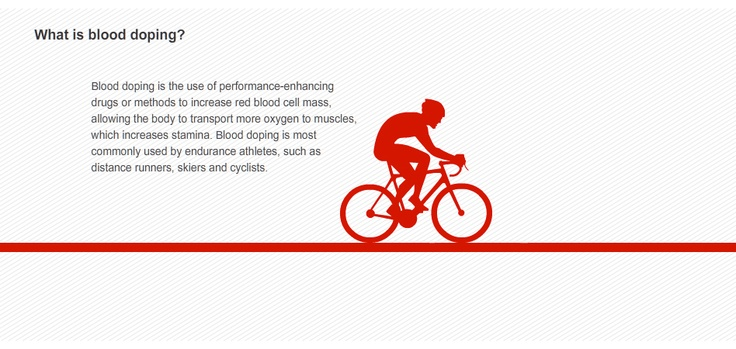 What is blood Doping | InfoGraphics | Pinterest