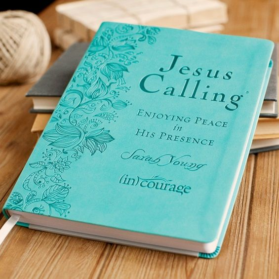 Sarah Young - Jesus Calling - (in)courage Exclusive Edition LOVE THE COLOR OF THIS ONE!!!!!