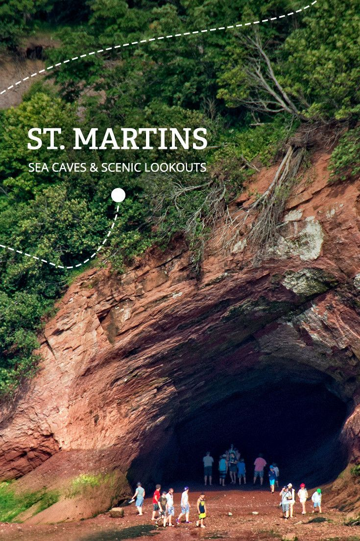 FundyTreasures & Tides Ride Road Trip stop #5 ST. MARTINS | Nestled between sea cliffs and sandy beaches, St. Martins is the gateway to The Fundy Trail. Grab a fresh bowl of chowder to fuel your adventure.