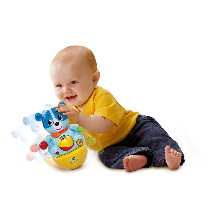 <strong>Vtech - Nino Tentetieso Musical</strong>, un osito tentetieso y musical que incluye 1 botón de luz que activa melodías y canciones, maracas y 1 bola para rodar. Nino tiene unas maracas en sus manos para jugar, 10 melodías y 3 canciones. Cuando el bebé lo mueve, suenan alegres melodías y frases. La bola permite aprender los números del 1 al 10 y los instrumentos musicales. Funciona con 2 pilas AA. Pilas incluidas. Edad recomendada: +6 meses.