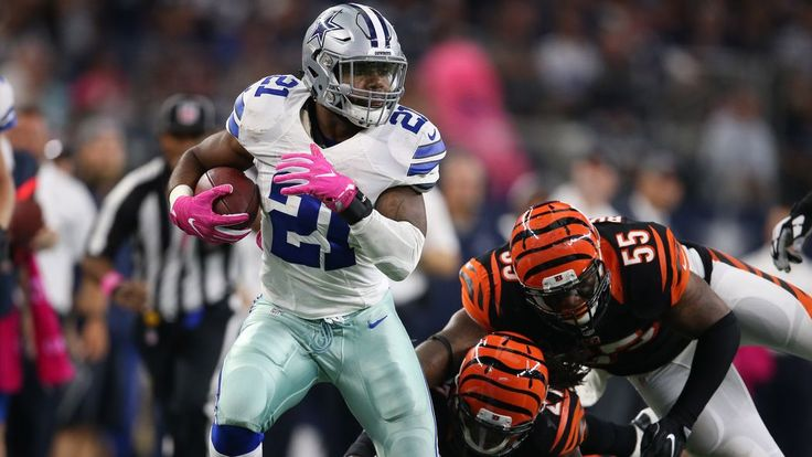 Ezekiel Elliott tops the list of surprising NFL running back statistics through Week 5 - 10/12/2016