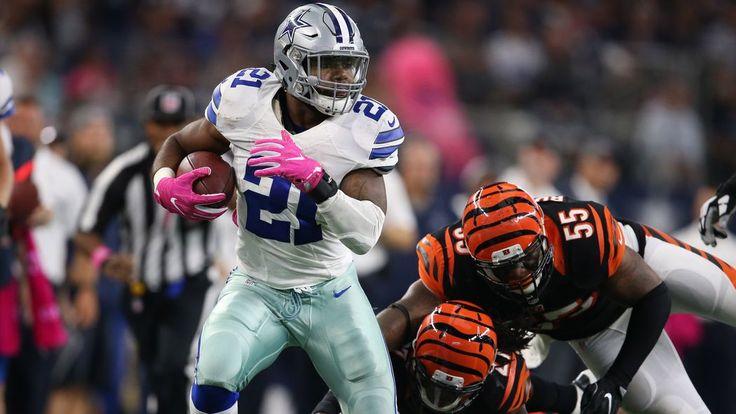 Ezekiel Elliott tops the list of surprising NFL running back statistics through Week 5 - 10/12/2016