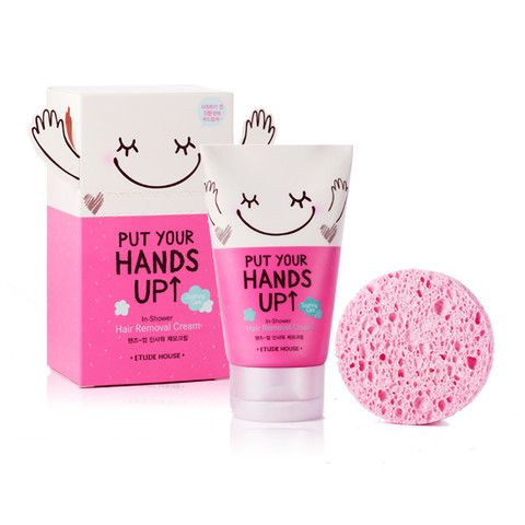 ETUDE, PUT YOUR HANDS UP: In-Shower Hair Removal Cream   KollectionK