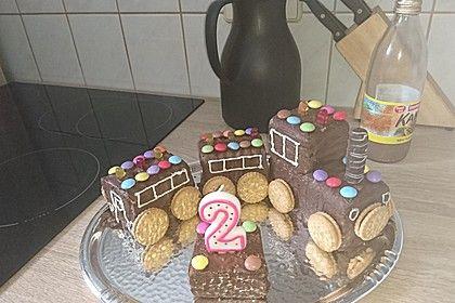 Schneller Zug - Kuchen 4