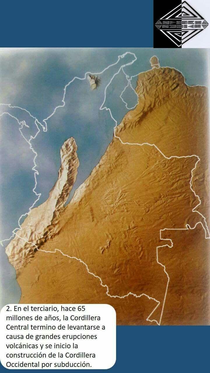 Historia geológica de Colombia