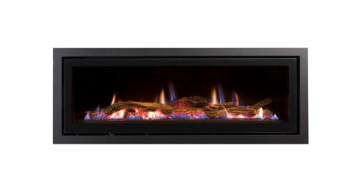 Seamless Landscape Gas Fireplace | Heatmaster -for everyday living area