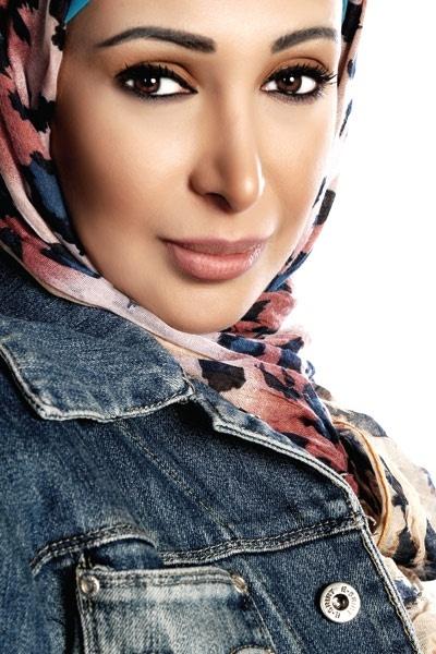 Shahinaz an Egyptian singer who wears hijab
