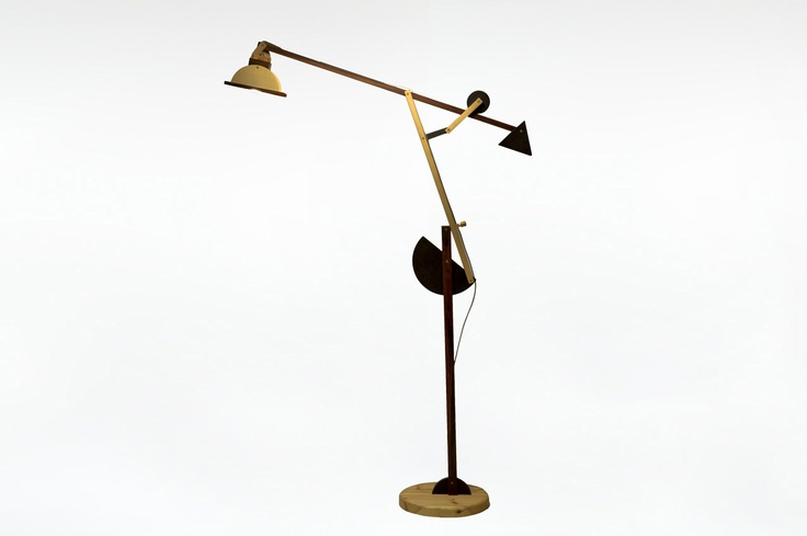Big Lamp called Crane Llampada Gru