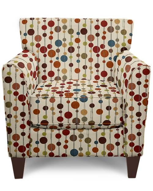 polka-dotted chair by la-z-boy: Posts, Polka Dots Chairs, Polkadot Chairs, Comfy Chairs, Polkadots, Rockers Chairs