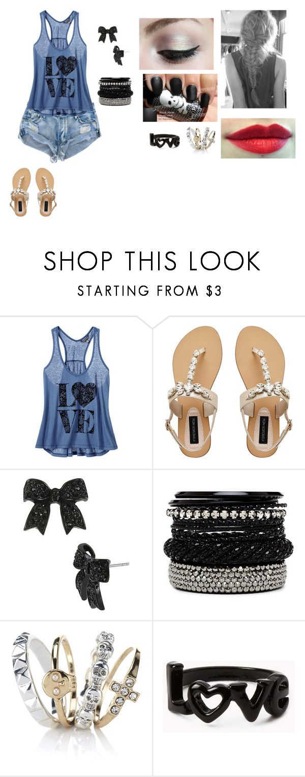 """""""alice casa"""" by mariana-da-silva-nunes ❤ liked on Polyvore featuring Victoria's Secret, Forever New, Smashbox, Betsey Johnson, 2b bebe, Accessorize and Forever 21"""