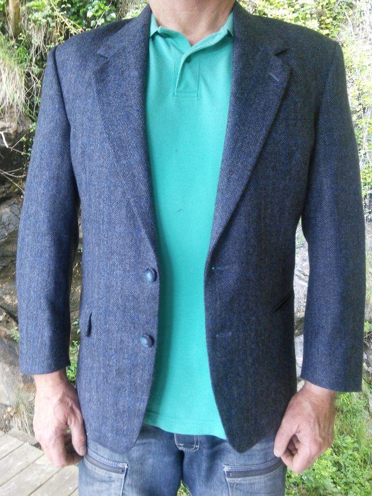Mens Blazer Sports Jacket Coat French Vintage Retro by WindowsOfParis on Etsy