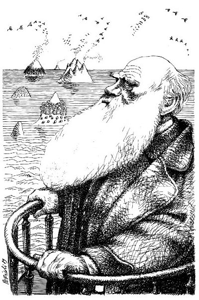 Tullio Pericoli - Charles Darwin