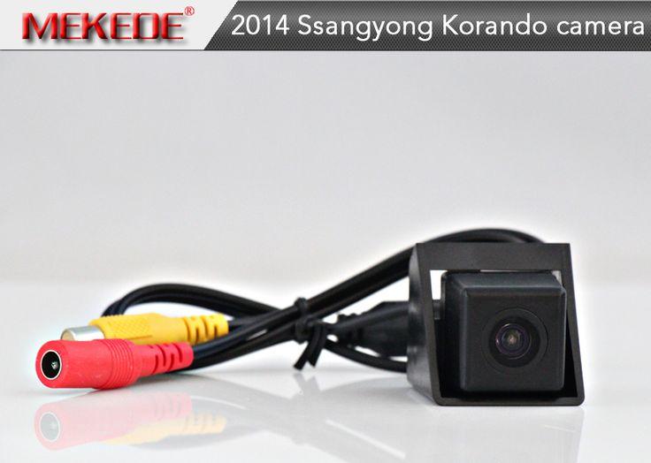 HD CCD Car Reverse Camera for Ssangyong Korando 2014 new Actyon Backup Rear View Parking Camera Night Vision Waterproof