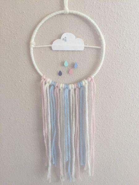 Traumfänger Wolke von Peaceful-Dreams auf DaWanda.com
